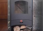 Vendo excelente estufa a leña