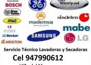 Servicio tecnico lavadora c 947990612 viña del mar