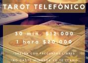 Tarot telefÒnico a todo chile $12.000