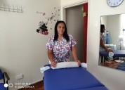 Masajista colombiana profesional