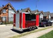 Se vende o arrienda carro food truck nuevo.
