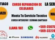 Curso reparacion de celulares santiago