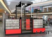 Stand módulos puntos de ventas para mall