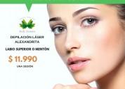 Promoción en depilación láser alexandrita