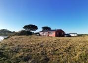 Casa amoblada 200 m2  playa quenuir, terr. 5.000m2