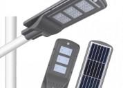 Luminarias poste solar calle 60w-led
