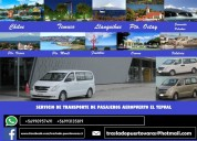 Transfer aeropuerto puerto montt
