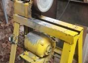 Se vende conjunto 4 maquinas para mecanica /madera