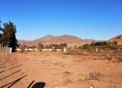 Parcela de 5900 m2, camino al valle del elqui