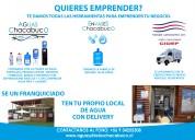 Se vende franquicia de agua purificada
