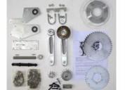 Kit jackshaft para motor bicicleta