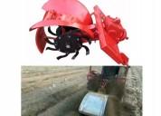 Zanjador de riego para tractor agricola