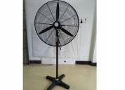 Ventilador industrial pedestal 30 pulgada en 4 caj