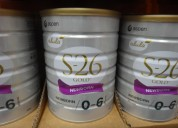 Nan pediasure s26 gold apatmil nutrilon isomil y o