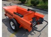 Carro abonador fertilizadora