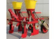 Sembradora de maiz porotos para tractor