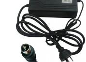 Cargador bateria litio 42v 2a pin central biciclet