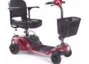 Scooter discapacitada eléctrica plegable s43 s45
