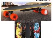 Skateboard longboard electrico