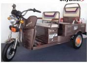 Triciclo de adulto electrica pasajero + carga