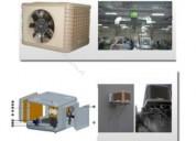 Enfriador evaporativo industrial 16000cbmh descarg