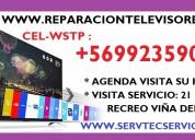 Reparación televisores plasma oled  lcd led aoc masterg rca jvc lg samsung