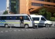 Buses minibuses y van para todo tipo de viajes