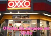 Tiendas oxxo tiene 20 vacantes en chile.