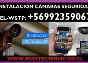 Instalacion camaras seguridad ip