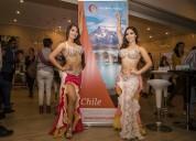 Odaliscas bailarinas Árabes para casinos, hoteles