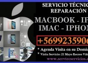 Reparacion apple ipad iphone mac macbook pro air