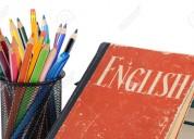 Doy clases de ingles enseñanza basica y media