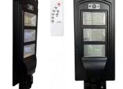 Luminaria poste solar publica 90w alta potencia