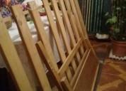 Vendo 2 catres madera con colchones