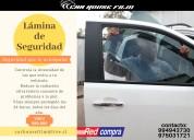 Láminas de seguridad para vehículos
