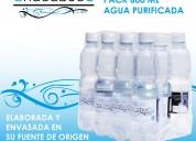 Agua purificada 500 ml