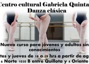 Clases de ballet para jóvenes s/conocimientos