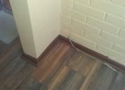 Instalación de piso flotante
