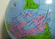 Globo terraqueo inflable grande 30 cm