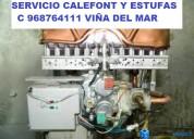 Calefont estufas gasfiter urgenci c 968764111 viña