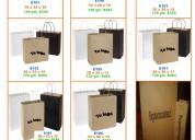 Bolsas de papel kraft estampadas
