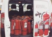 Mantencion, recarga y venta de extintores