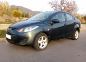 Mazda 2 2012 sedan full automatico 63.000 kms