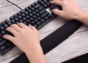 Soporte ergonomico teclado para muñecas