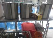 Equipo completo para fabricacion de cerveza artesa