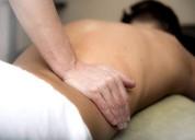 Rico masaje relajación corporal. y sensitivo