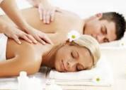 Masaje de relajación para parejas