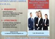 Trabajo disponible en los eeuu
