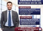 Empleos  disponibles en los estados unidos