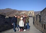 Guía de habla español/castellano en pekín,shanghai